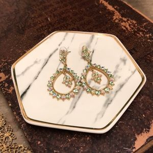 Stunning and sparkly earrings
